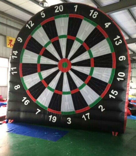 inflatable football dart game 5x6m_1